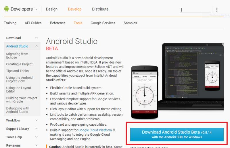 android-studio-indir