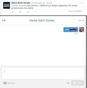 Mediamarkt iletişim